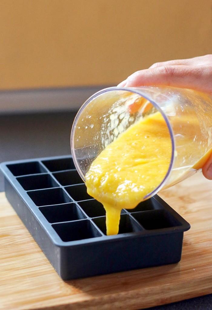 conservar pur de frutas para batidos o comida de beb en el congelador es la mejor