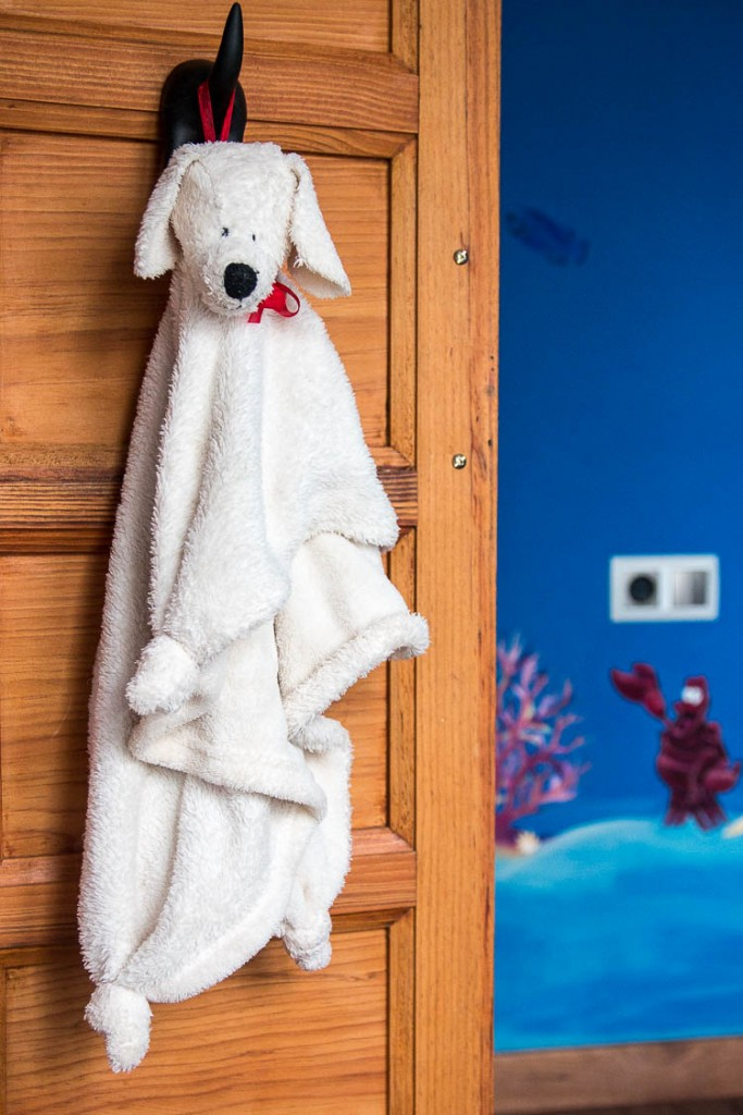 Manta Peluche en Forma de Perro con Patrón - Cosas Caseras