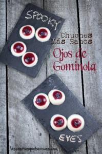 Receta de Gominolas de ojos sangrientos para Halloween- Faciles de hacer