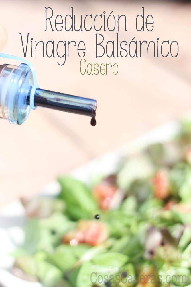 Hacer una reducción de balsámico es fácil de hacer; es una salsa dulce y de sabor complejo, perfecta para aliñar las ensaladas y frutas todo el año.