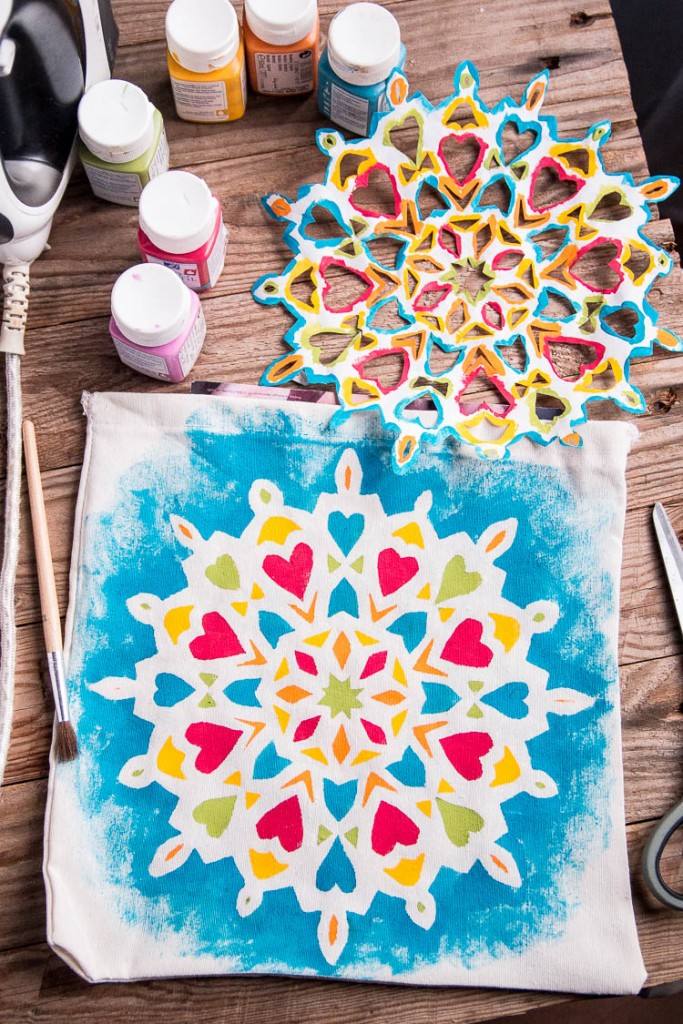 Cómo Pintar Un Mandala Fácilmente En Tela Incluso Para Niños