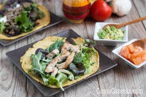 Tortillas Paleo de Linaza y Huevos