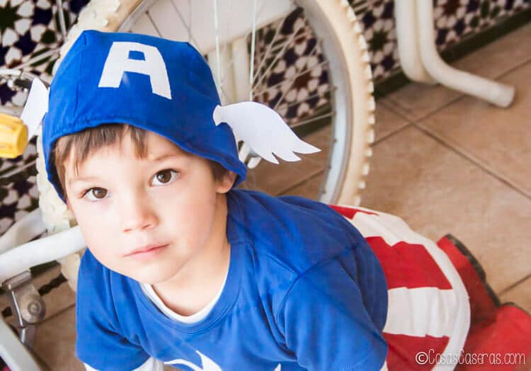 Como Hacer Un Disfraz De Capitan America Cosas Caseras - Como-hacer-un-disfraz-casero