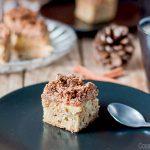 Bizcocho de Manzanas Paleo con Migas Crujientes (Apple Crumb Cake)