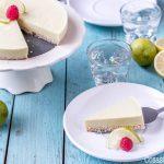 Tarta de Lima Paleo sin Horno (Paleo Key Lime Pie)