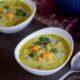 2 boles de sopa Mulligatawny con pollo
