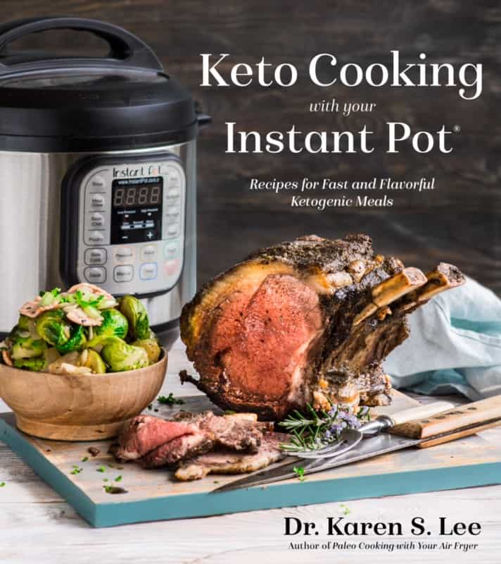 Portada del libro de cocina Keto Cooking In Your Instant Pot
