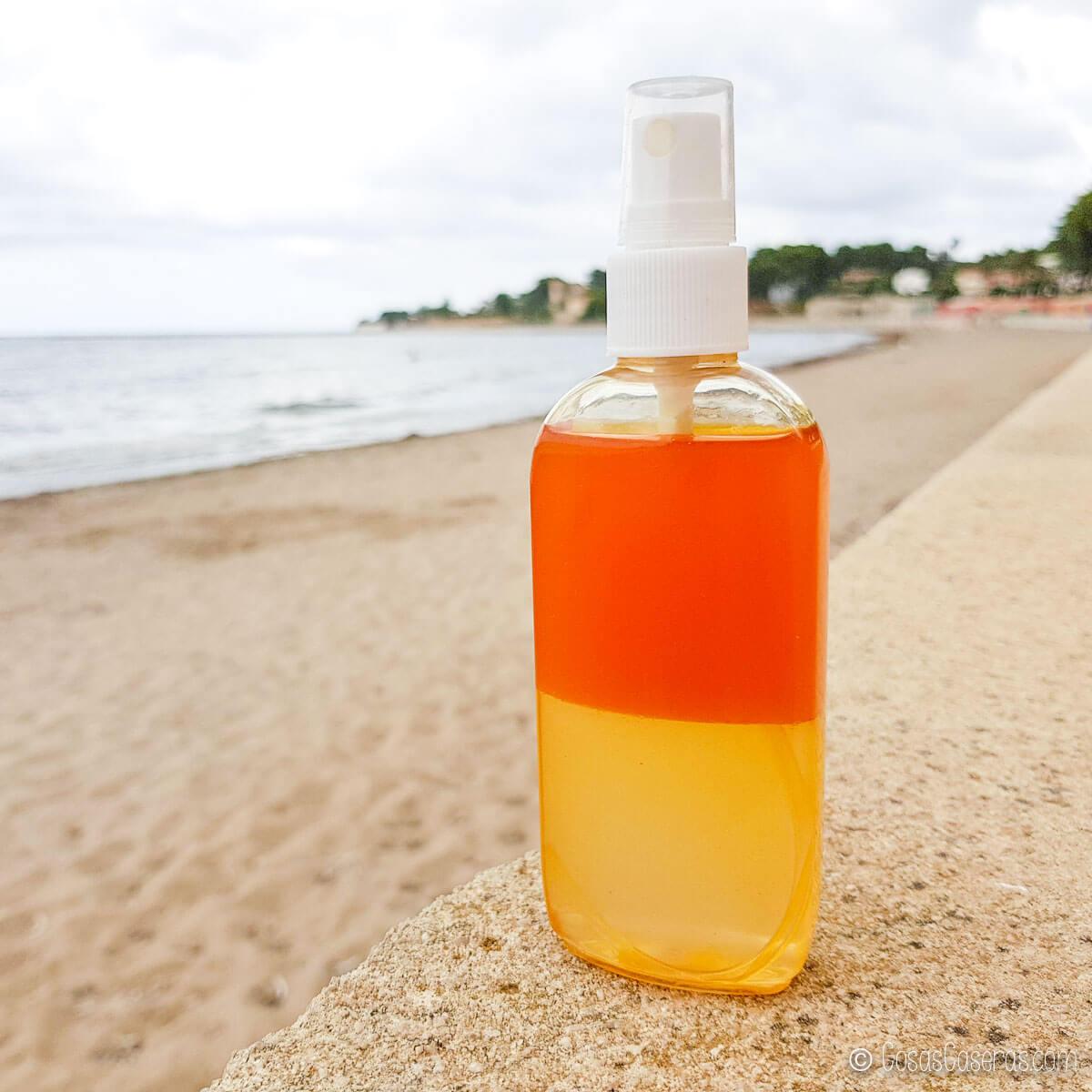 spray de sal marina de 2 colores
